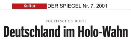 Deutschland im Holo-Wahn