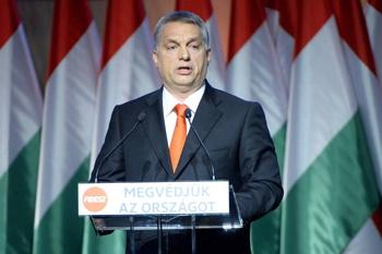 Orban jetzt für die Rasse