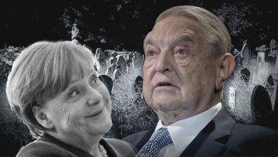 Soros Und Merkel